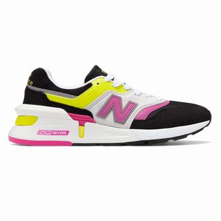 New Balance Made in US 997 Sport Mens Casual Shoes Black Yellow (SMFJ5573)