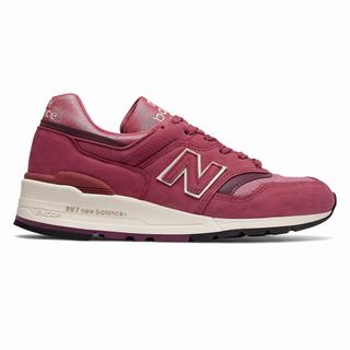 New Balance Made in US 997 The Retrospective Woman Womens Casual Shoes Red (LMRY9553)