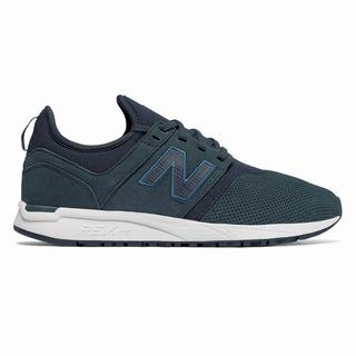New Balance Nubuck 247 Womens Casual Shoes White (YNHQ8798)