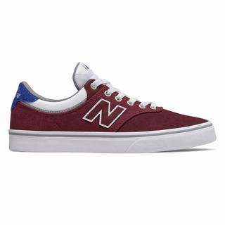 New Balance Numeric 255 Mens Casual Shoes Burgundy Royal Blue White (SKGL6270)