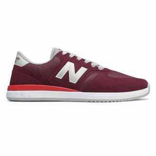 New Balance Numeric 420 Mens Casual Shoes Burgundy Red (AUXL7232)