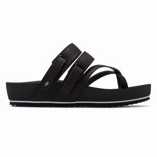 New Balance Traveler Womens Sandals Black (OUQM1878)