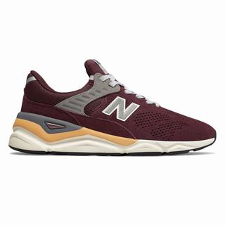 New Balance X-90 Mens Casual Shoes Burgundy (CDMS8217)