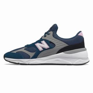 New Balance X-90 Mens Casual Shoes Deep Blue Grey (JIMO9712)