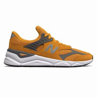 New Balance X-90 Mens Casual Shoes Gold (VUFA5202)
