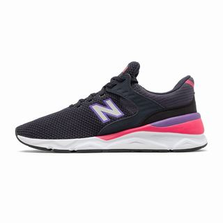 New Balance X-90 Mens Casual Shoes Light Black Pink (JFZM3002)