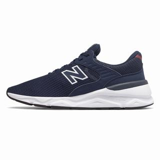 New Balance X-90 Mens Casual Shoes Navy Red (HYKU9335)