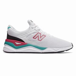 New Balance X-90 Mens Casual Shoes White Burgundy (XRWO2360)