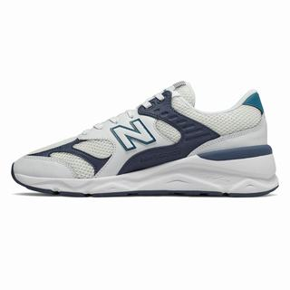 New Balance X-90 Reconstructed Mens Casual Shoes White Dark (YGSK2398)