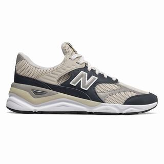 New Balance X-90 Reconstructed Mens Casual Shoes Light Black Grey (ERXJ5230)