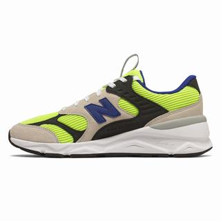 New Balance X-90 Reconstructed Mens Casual Shoes White Light Green (FIAN3719)