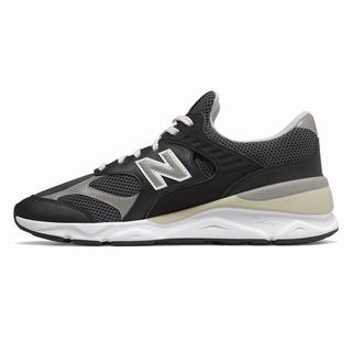 New Balance X-90 Reconstructed Mens Chunky Trainers Black Light Black (RFXT9140)