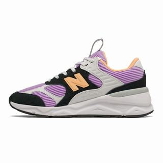 New Balance X-90 Reconstructed Womens Casual Shoes Black Dark Purple (BHKJ6152)