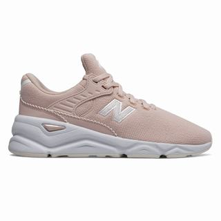 New Balance X-90 Womens Casual Shoes Pink White (SOPV2534)