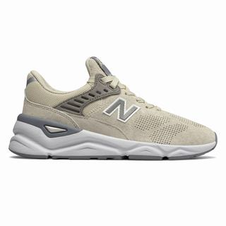 New Balance X-90 Womens Casual Shoes Beige (VIZQ7679)