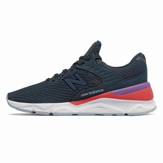 New Balance X-90 Womens Casual Shoes Blue (YUNJ7304)