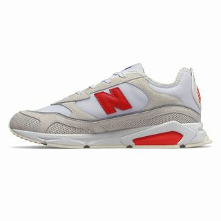 New Balance X-Racer Mens Casual Shoes White Red (KYFU9263)