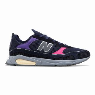 New Balance X-Racer Mens Casual Shoes Navy Pink (UBVM8222)