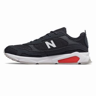 New Balance X90 Racer Mens Casual Shoes Light Black Red (DRWV4708)