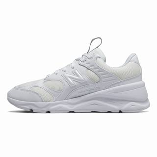 New Balance X90 Reconstructed Womens Chunky Trainers White (HLFZ2115)