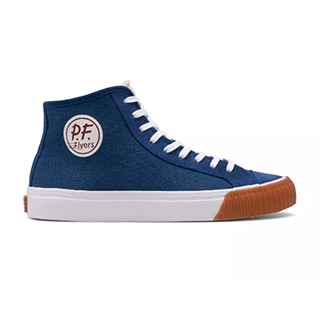 Pf Flyers Center Hi Mens Sneakers Blue White (LUTM8143)