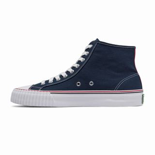 Pf Flyers Center Hi Mens Sneakers Navy (XTRU9798)