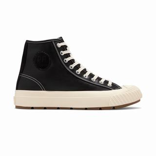 Pf Flyers Grounder Hi Mens Sneakers Black (PWHS3480)