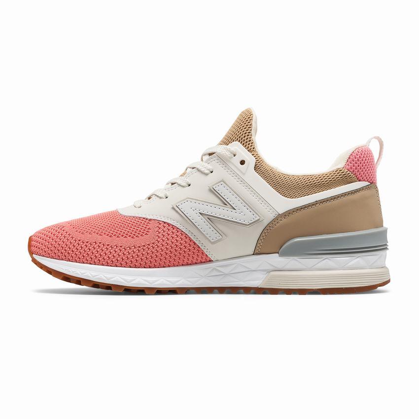 best service 68d89 6dfc1 New Balance Casual Shoes Best Price - 574 Sport Mens Pink ...